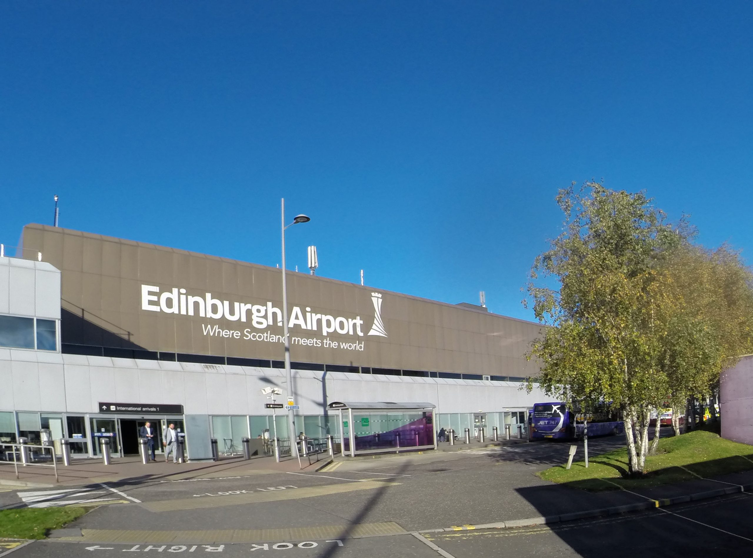 Edinburgh Airport checks